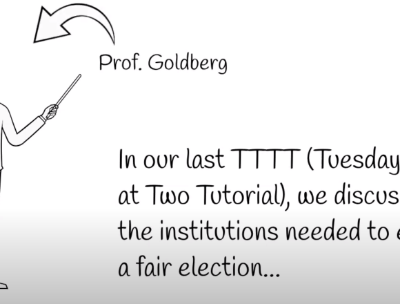 Tuesday Tips at Two with the Goldbergs: the Electoral College Still Rocks!